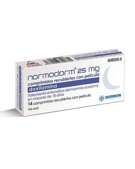 Normodorm 25 mg 14 comprimidos