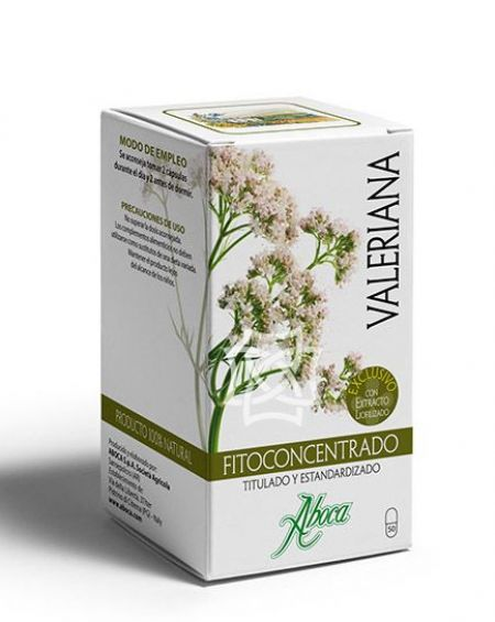 Fitoconcentrado Valeriana 500 mg  50 cápsulas