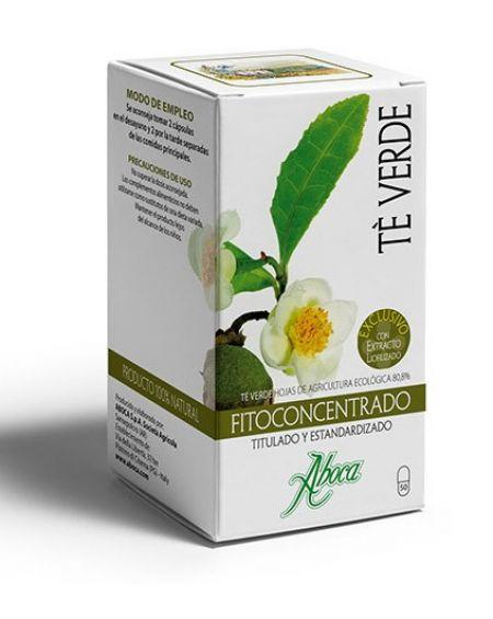 Fitoconcentrado Té verde 50 cápsulas
