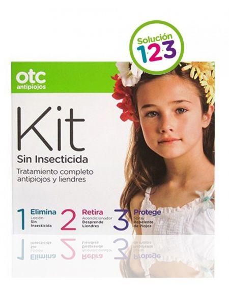 OTC kit antipiojos sin insecticida