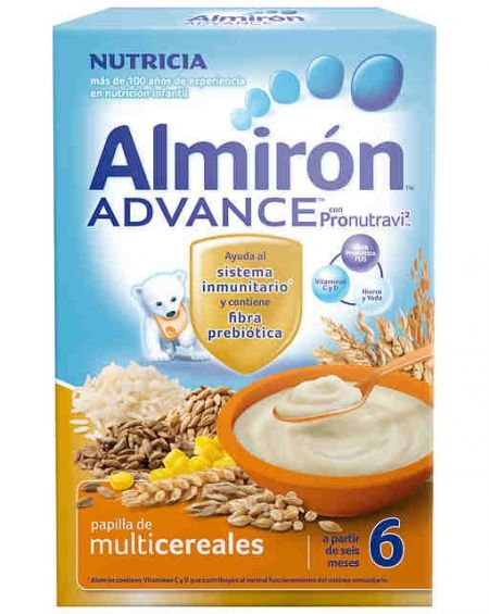 Almirón advance multicereales 600 gr