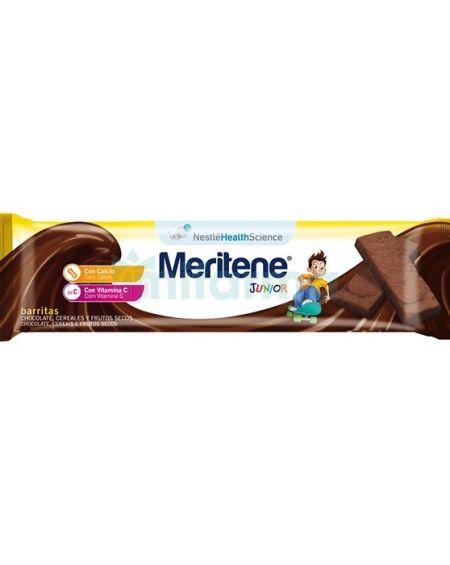 Meritene Junior barritas cereales sabor chocolate 1 ud