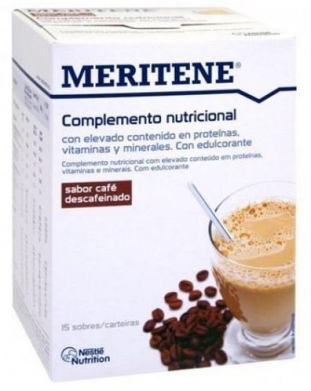 Maritene activ sernior café descafeinado 15 sobres