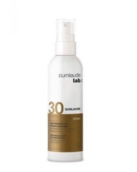 Sunlaude FPS 30 spray crema protección corporal