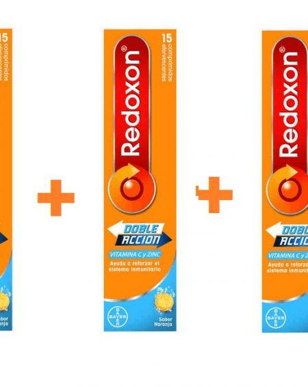 Redoxon doble acción 3x2 promoción