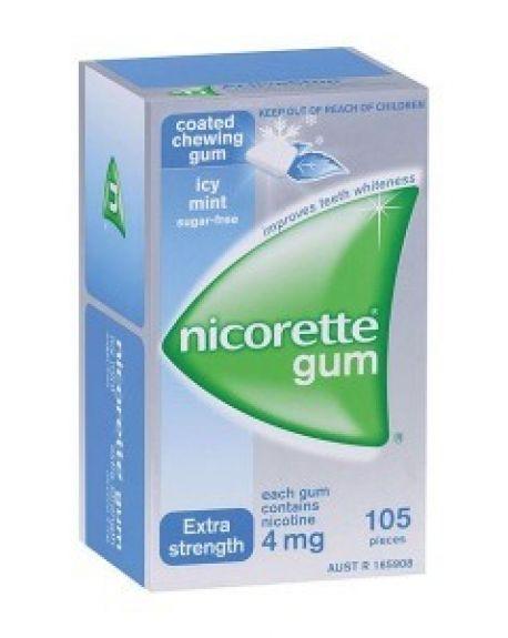 Nicorette Icemint 4 mg chicles 105 unidades
