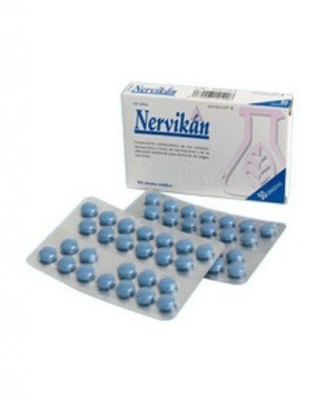 Nervikan 50 comprimidos recubiertos