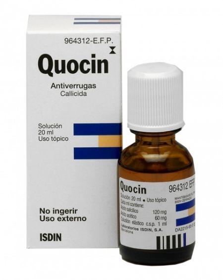 Quocin solución 20 ml