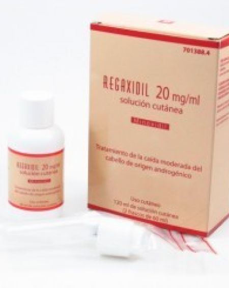 Regaxidil 2 % solución 60 ml