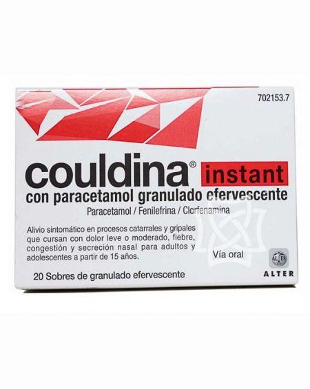 Couldina instant con paracetamol 20 comprimidos