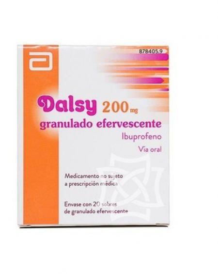 Dalsy 200 mg 20 sobres efervescenes