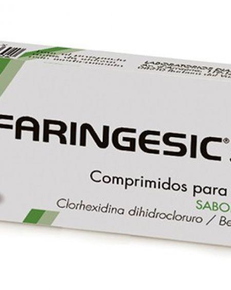 FARINGESIC 5 mg/5 mg 20 Comprimidos para chupar sabor menta