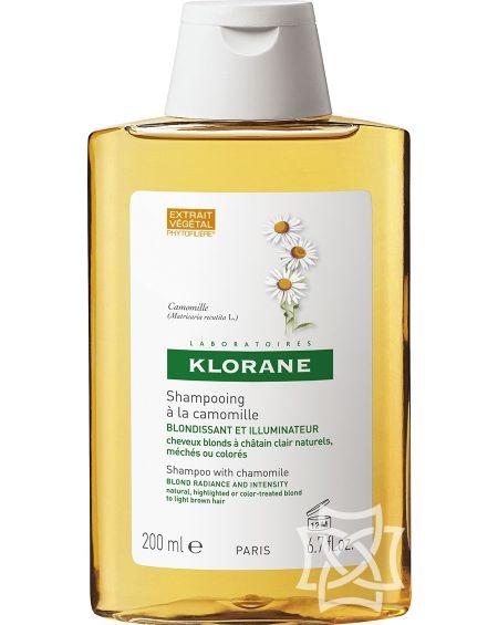 Champú de camomila 200 ml de Klorane