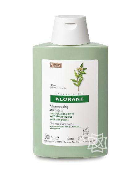 Champú de extracto de mirto 200 ml de Klorane