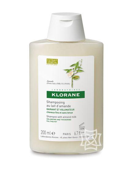 Champú de leche de almedras 200 ml de Klorane