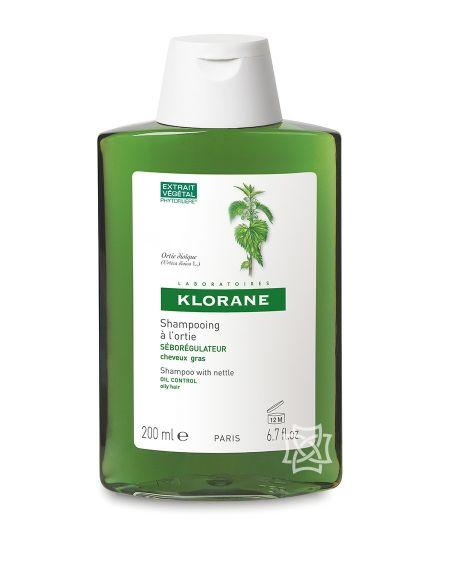 Champú de extracto de ortiga 200 ml de Klorane