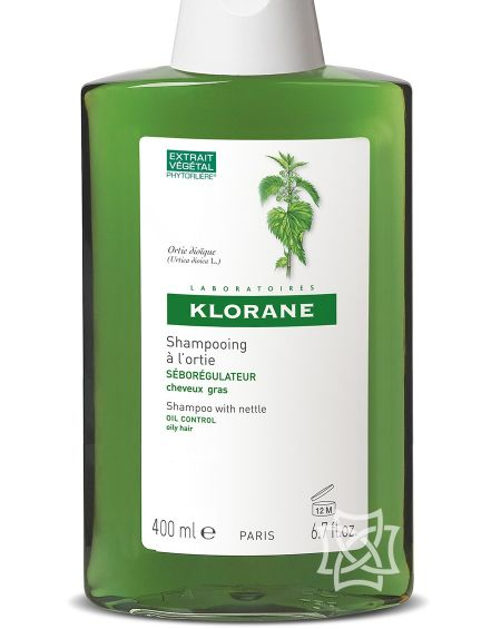 Champú de extracto de ortiga 400 ml de Klorane