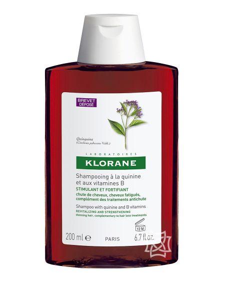 Champú de quinina 200 ml de Klorane