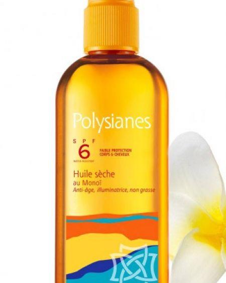 Polysianes aceite seco de Monoï SPF 6