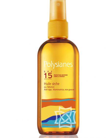 Polysianes aceite seco de Monoï SPF 15