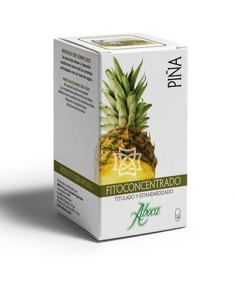 Fitoconcentrado Piña 500 mg  50 cápsulas