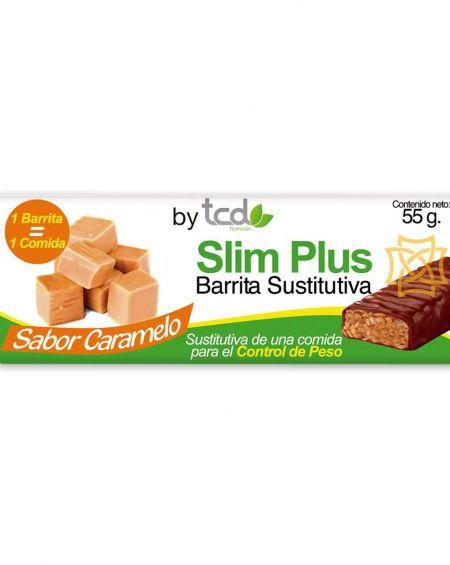 Slim Plus barrita sustitutiva sabor caramelo