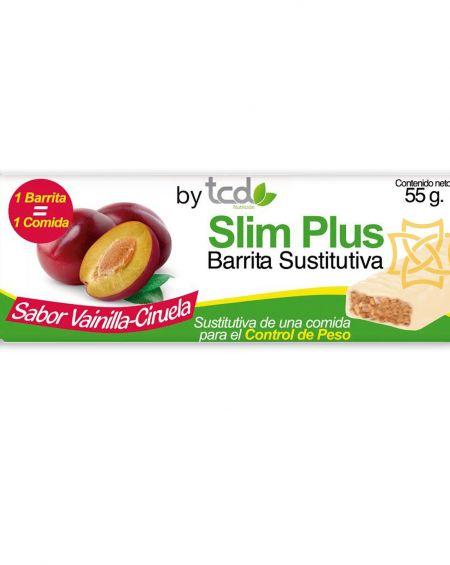 Slim Plus barrita sustitutiva sabor vainilla