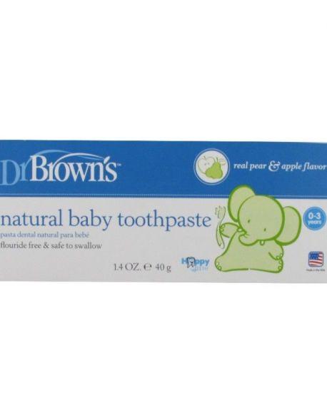 Pasta de dientes Dr. Brown's de 0 a 3 años