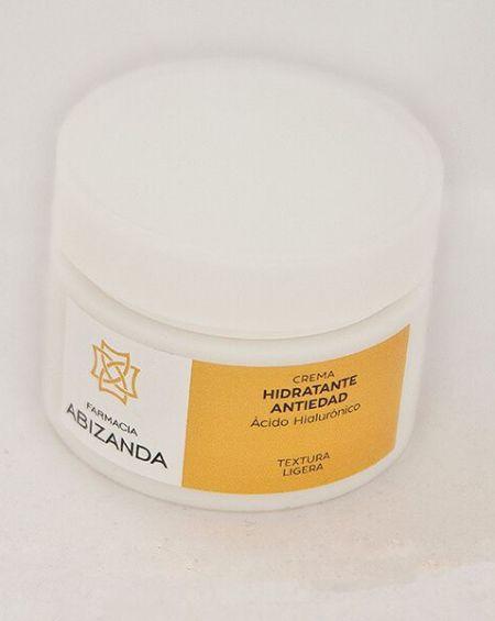 abizanda crema hidratante antiedad con A.H. textura ligera 50 ml