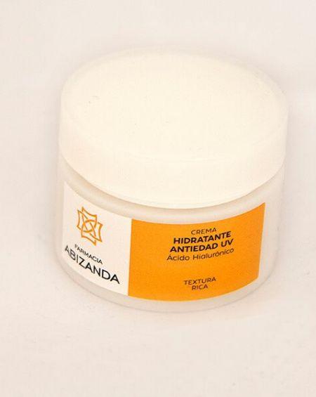 abizanda crema hidratante antiedad UV AH textura rica 50 ml