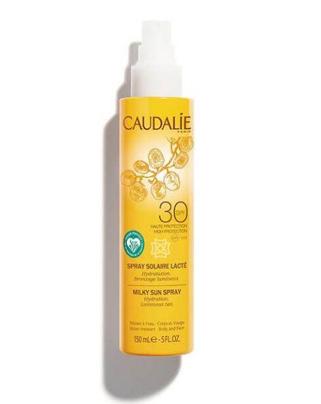 Spray solar lácteo spf 30 de caudalíe