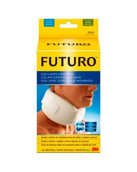 COLLARIN CERVICAL 3M FUTURO AJUSTABLE CUELLO 27.9 X 50.8 CM