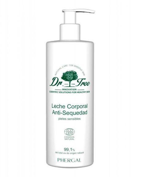Dr. Tree Leche Corporal Antisequedad Pieles Sensibles 400 ml