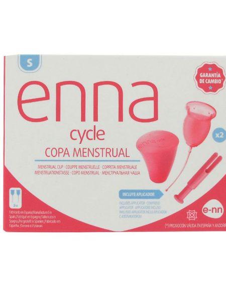 enna cycle copa menstrual talla S con aplicador