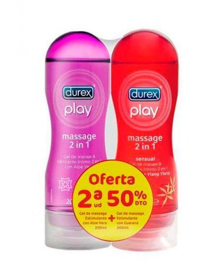 Durex Play Massage 2 en 1 Estimulante Duplo 200 ml