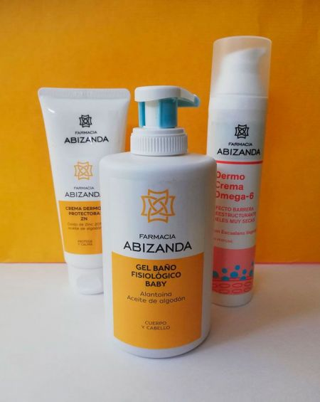 Pack Aseo Bebé Abizanda. - 5% Gel+Crema Reparadora+Crema del Culete