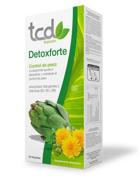 TCD Detoxforte 20 ampollas de Tcuida