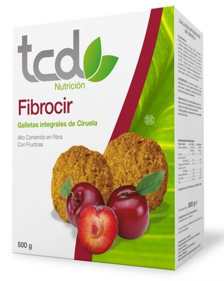 TCD Fibrocir Galletas Sabor Ciruela de Tcuida