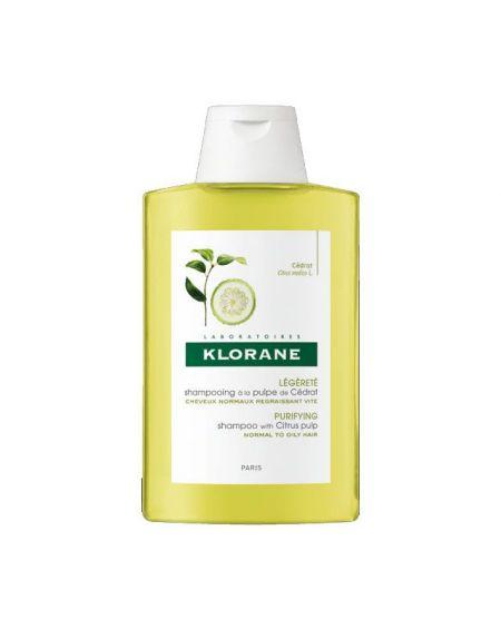 Champú Pulpa de Cidra de Klorane 400 ml