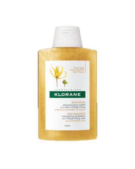 Champú Reparador a la Cera de Ylang-Ylang de Klorane 200 ml