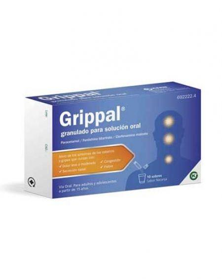 Grippal granulado para solución oral
