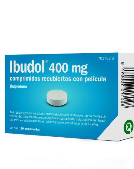 Ibudol 400 mg 20 omprimidos