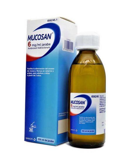 MUCOSAN 6 mg/ ml JARABE