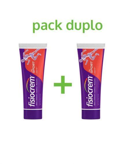 pack duplo Fisiocrem Sport 2 x 120 ml