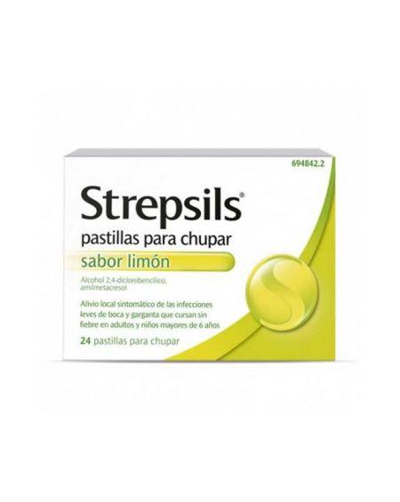 Strepsils con Limón 24 pastillas para chupar