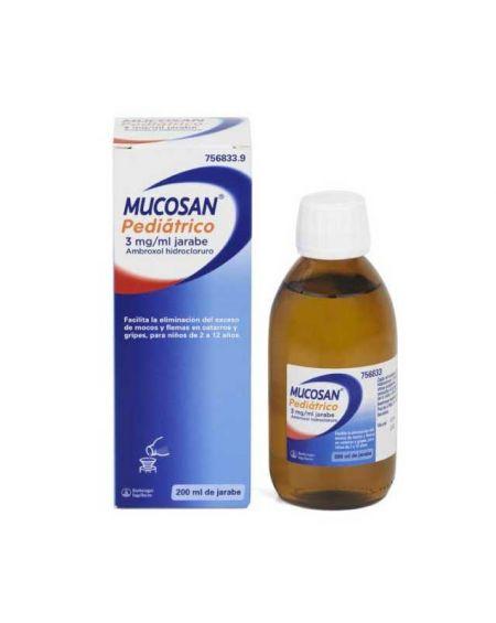 MUCOSAN PEDIATRICO 3 mg/ml JARABE 200 ml