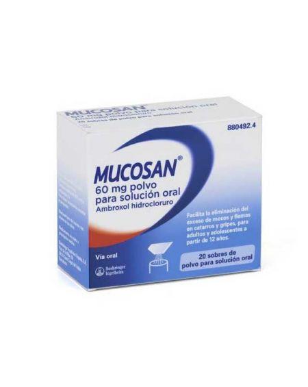 MUCOSAN 60 mg polvo para solución oral