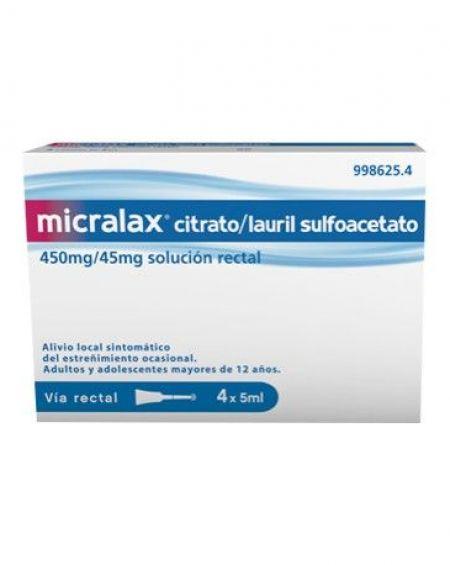 Micralax 5 ml 4 microenemas