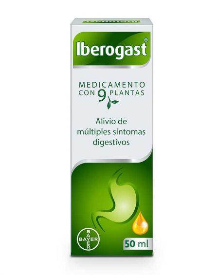 IBEROGAST GOTAS ORALES EN SOLUCION 50 ML