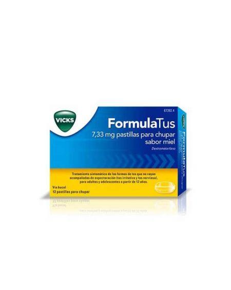FORMULATUS 7,33 mg PASTILLAS PARA CHUPAR SABOR MIEL